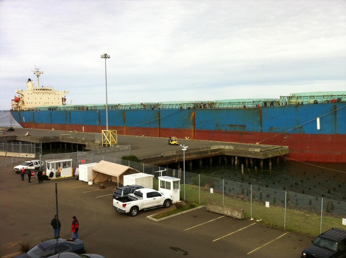 M/V EDFU at Pier 1