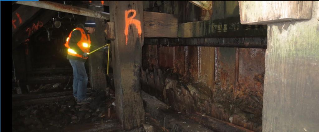 Pier 2 Inspection - Under dock