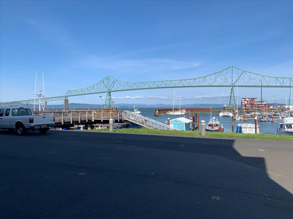 Suite 103 - View to Marina & Bridge