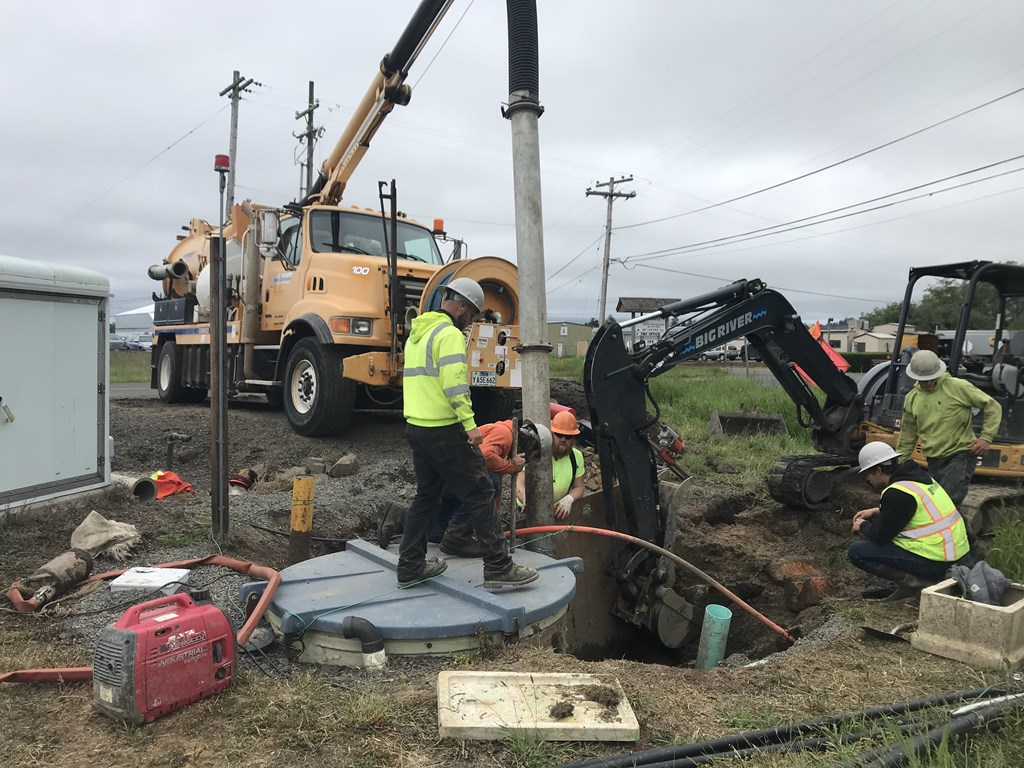 Airport Sewer Reconstruction Project May/June 2021