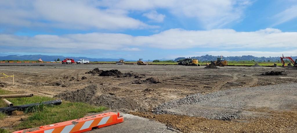 Airport AIP26 Apron Improvement June/July 2021