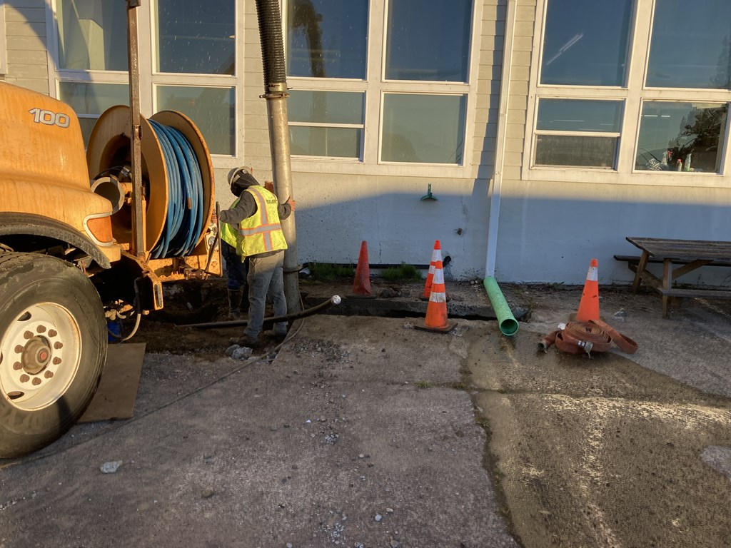 Airport Sewer Reconstruction Project September 2021